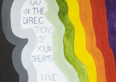 Go in the directions of your dreams – live the life you have imagined